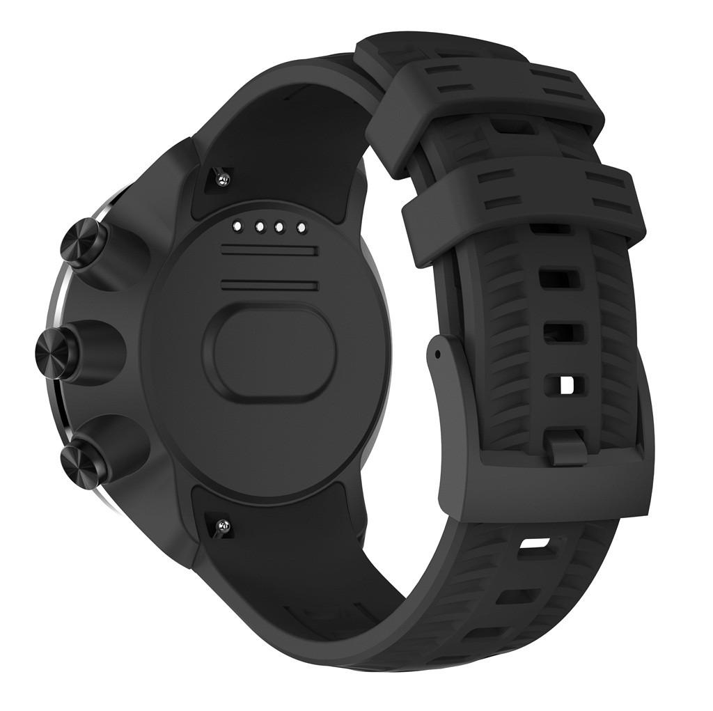 Indexbild 14 - Für SUUNTO 9 / Baro Smartuhr Uhrenarmband Sport Silikon Ersatz Armband