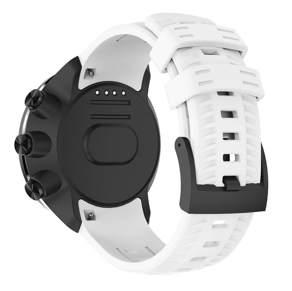 Indexbild 19 - Für SUUNTO 9 / Baro Smartuhr Uhrenarmband Sport Silikon Ersatz Armband