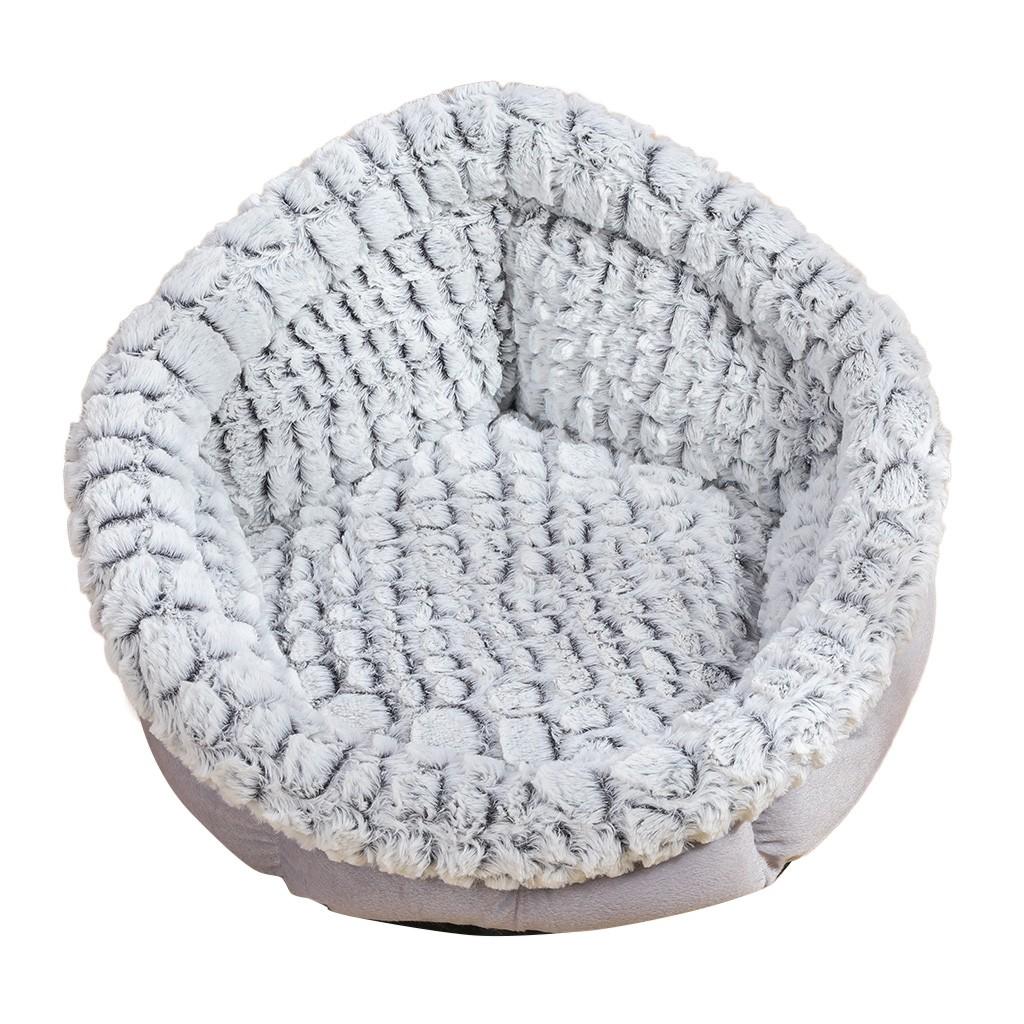 Indexbild 12 - Rund-Katze-Hund-Winter-Warmer-Schlafsack-Pluesch-Haustier-Bett-Kennel-Matten