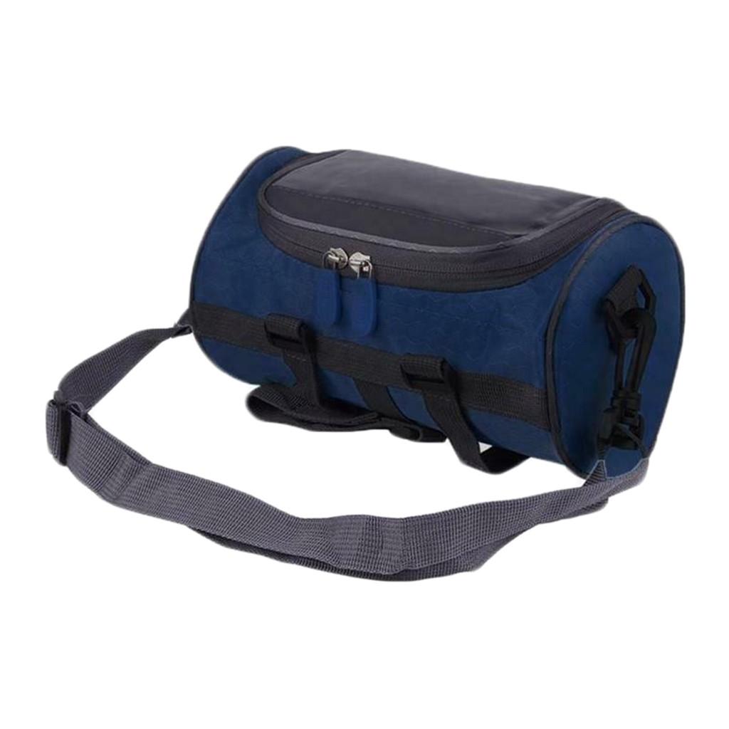 2in1 Bicycle Bag Handlebar Front Tube Waterproof Bike Phone Bag Touch Screen