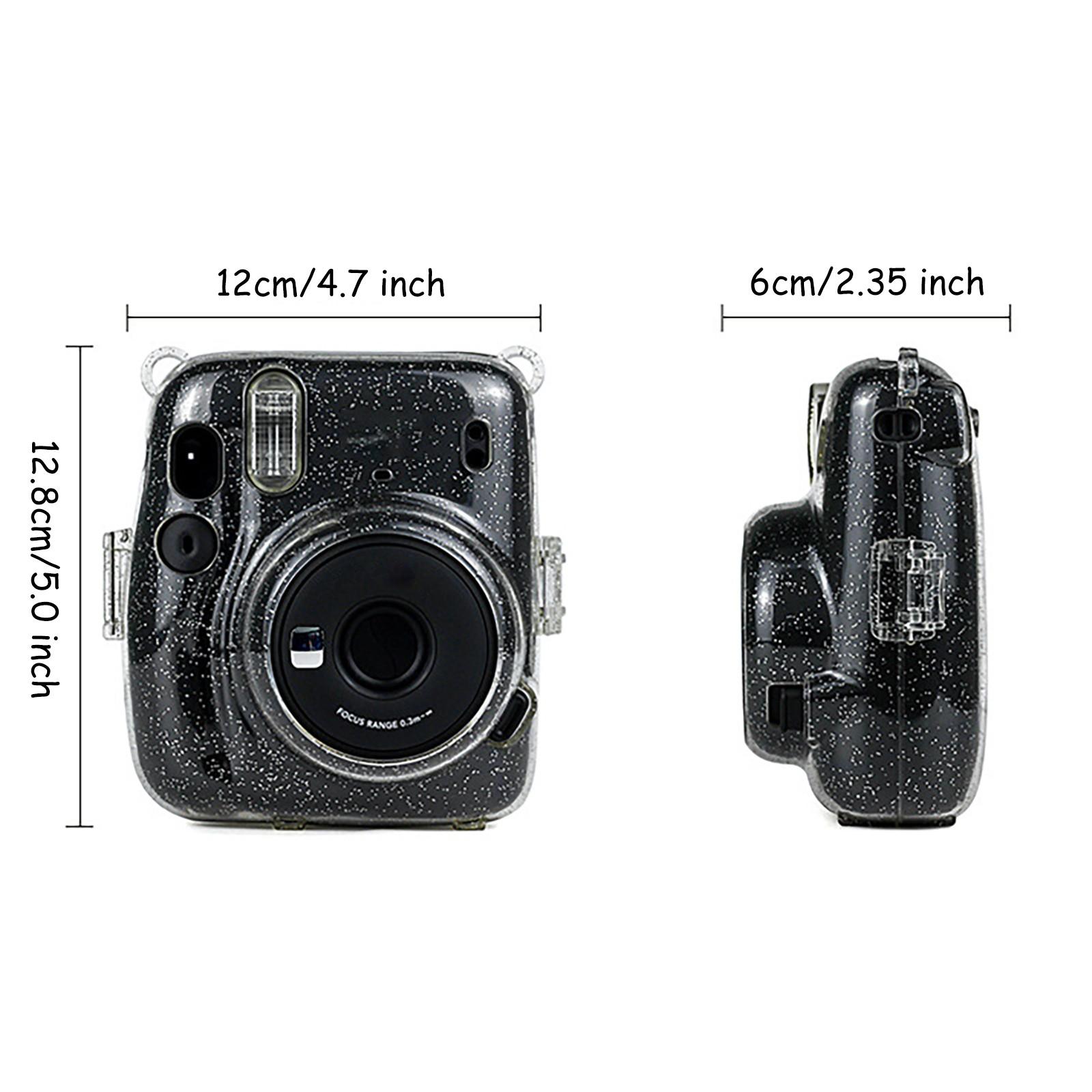 Indexbild 15 - Für instax mini11 transparente Gouache Kameratasche Schultergurt Schutzhülle