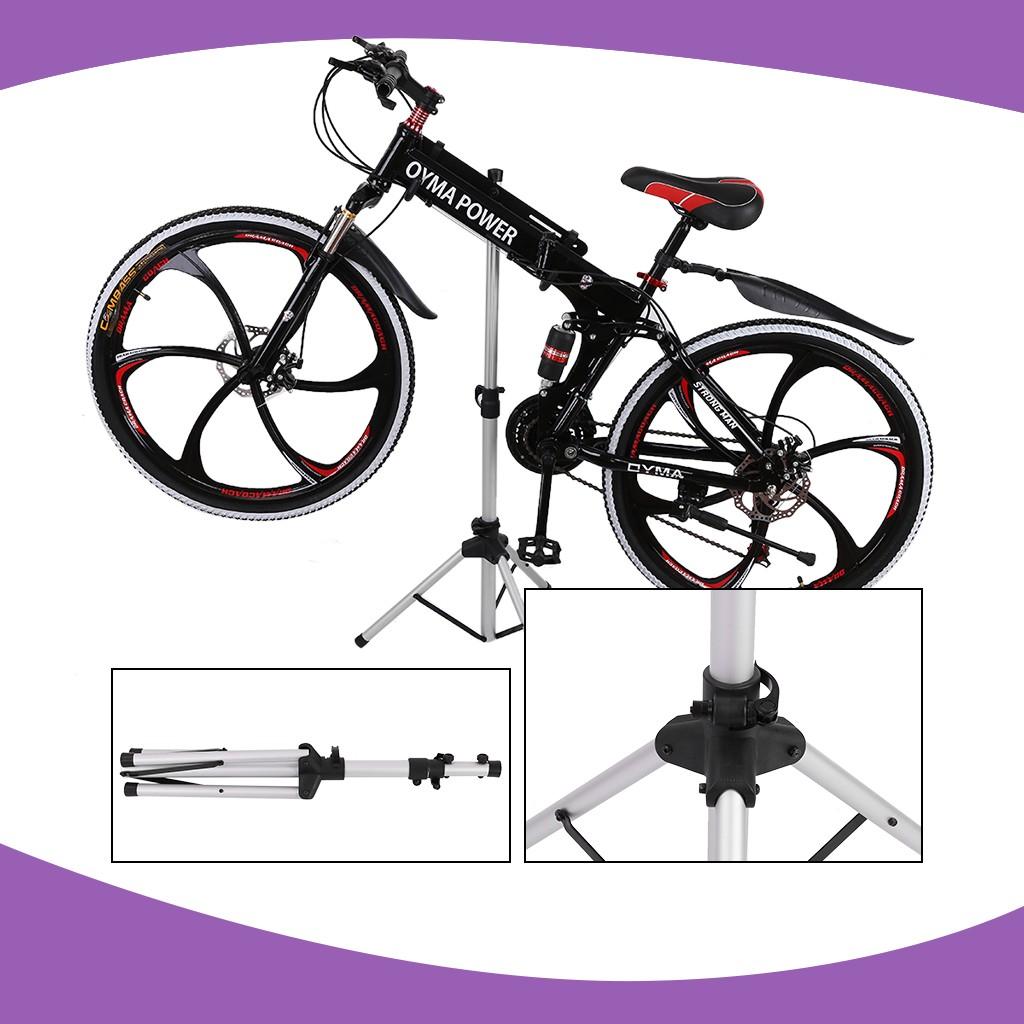 Steel Bike Bicycle Maintenance Mechanic Adjustable Repair Rack Work Stand Holder