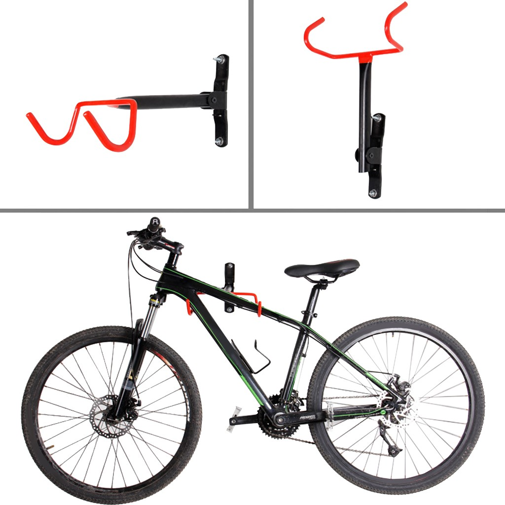 Bicycle Cycling Wall Mount Rack Hanger Bike Steel Hook Holder