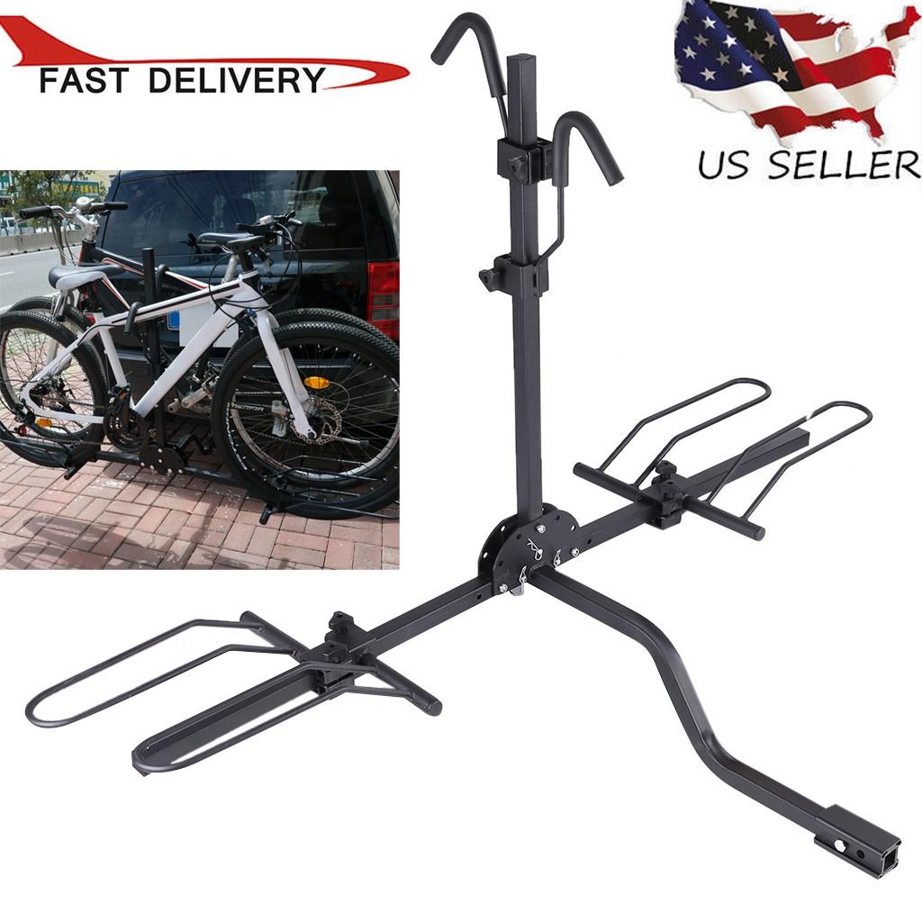 Bike Carrier Platform Hitch Rack Bicycle Mount Sport Fold Receiver